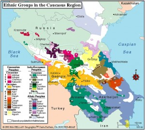 Le etnie del Caucaso