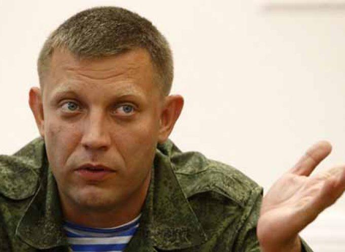 Zakharchenko parla di Slavyansk