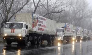 Convogli umanitari nel Donbass