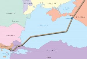 Il tracciato di Turkish Stream