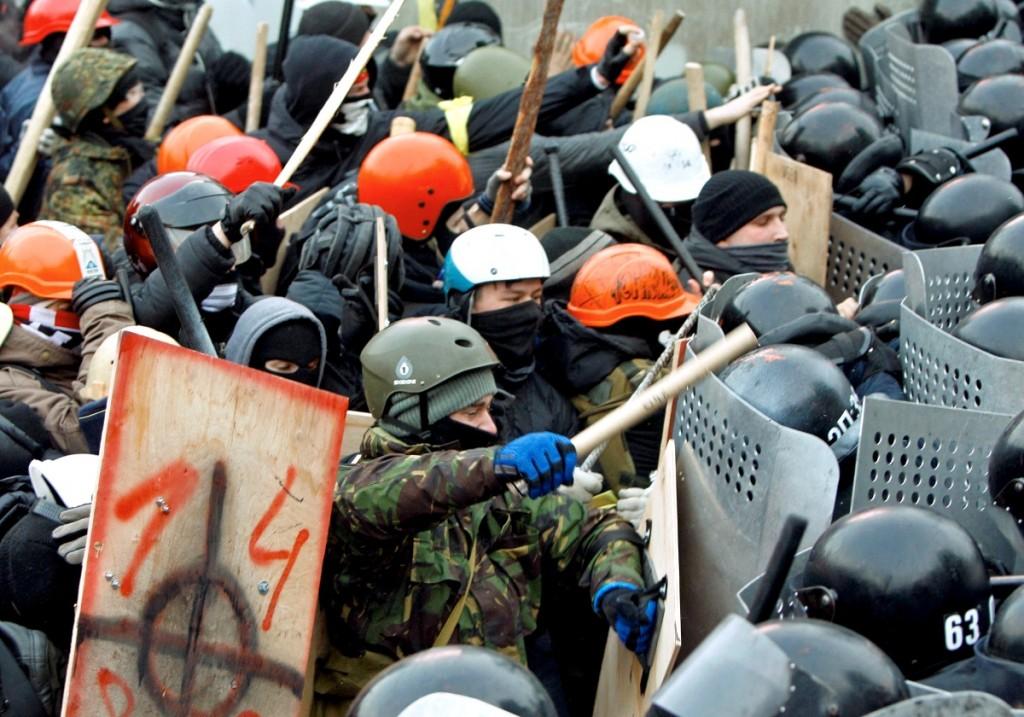 Euromaidan: una operazione gestita con l'utilizzo di tecniche di ingegnerizzazione del consenso di massa.