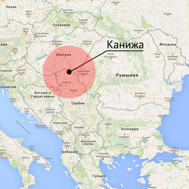 Kanizha, al confine serbo-ungherese