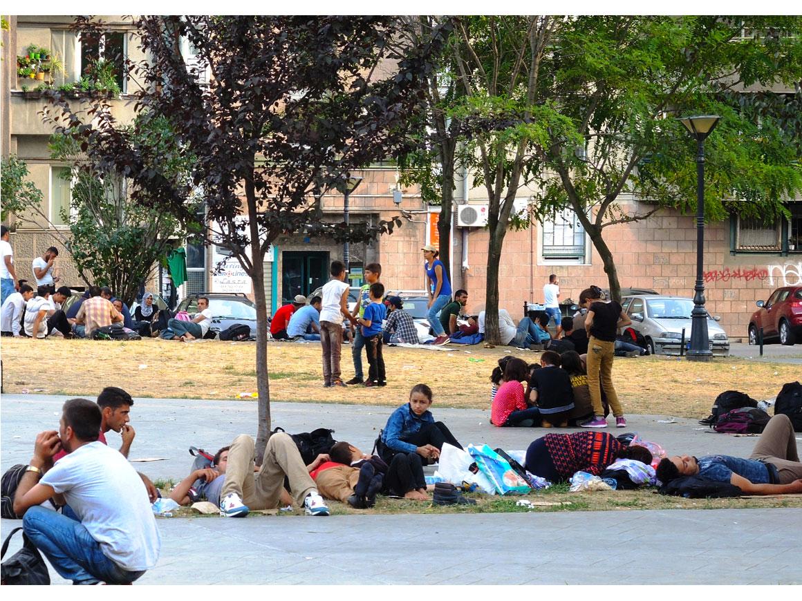 Rifugiati a Belgrado