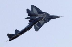 Jet in esibizione durante la recente fiera di Mosca: gli aerei russi non andranno in Siria.
