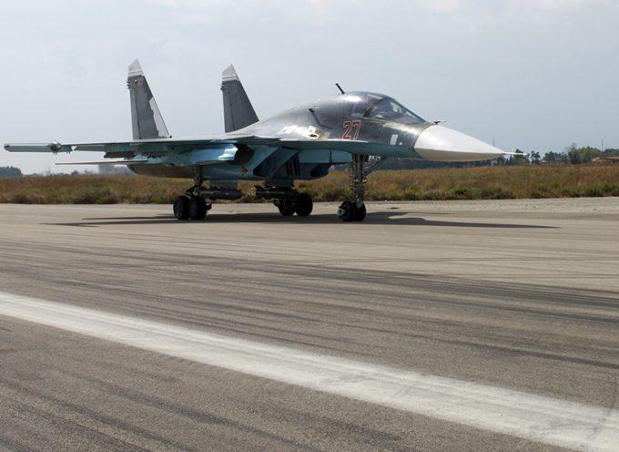 Prima settimana dall'intervento militare russo in Siria