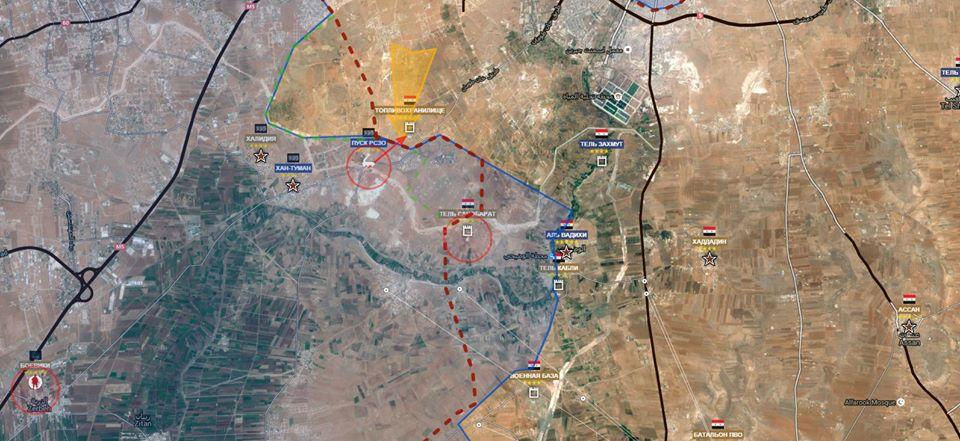Sud Ovest Aleppo