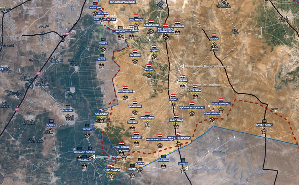 Fronte Est Aleppo