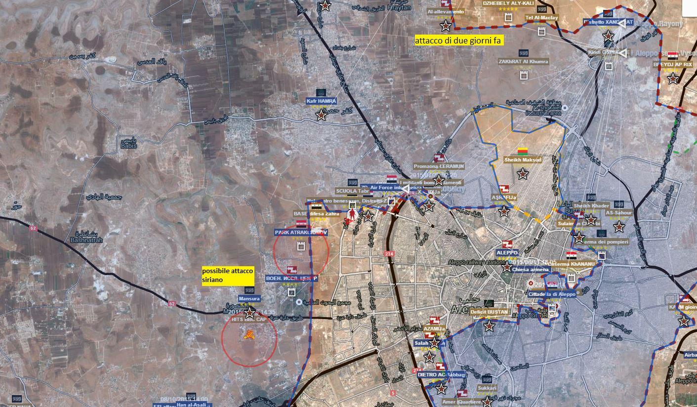 Fronte di Aleppo Città