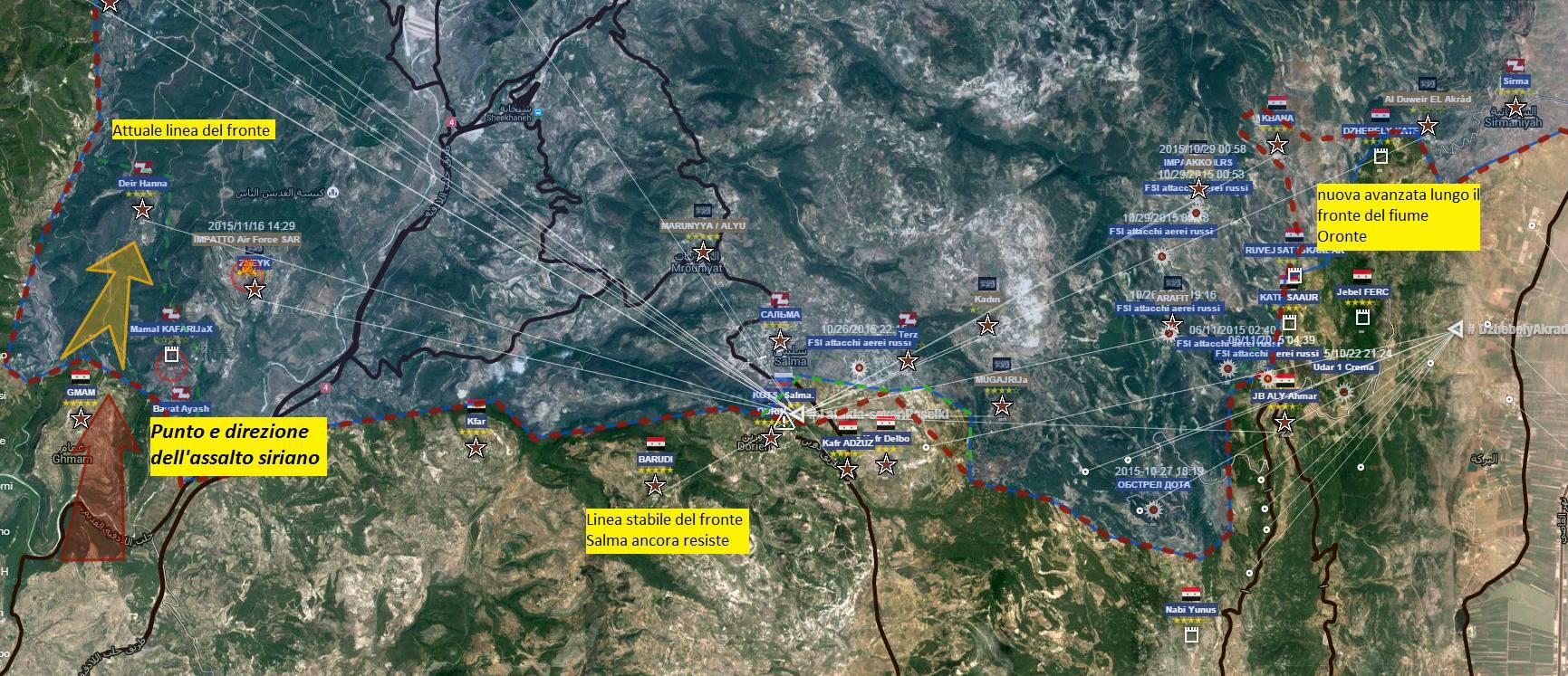 Fronte Latakia - Oronte
