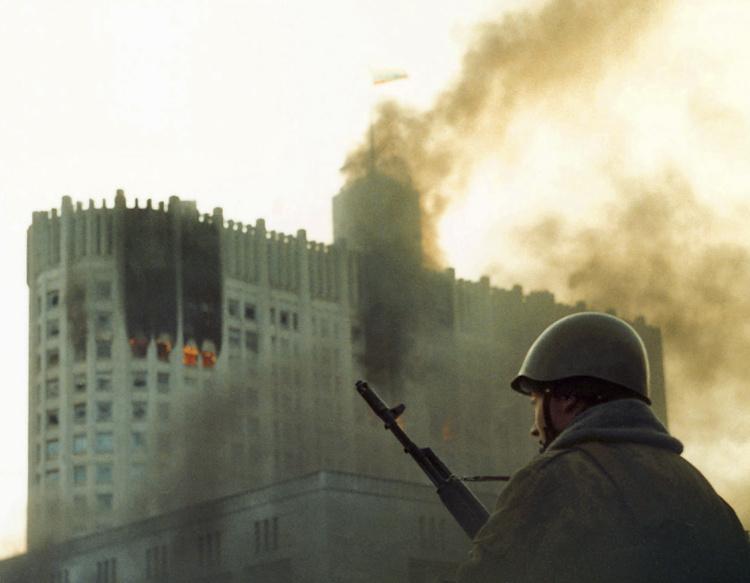 Ottobre 1993, La crisi Costituzionale a Mosca.