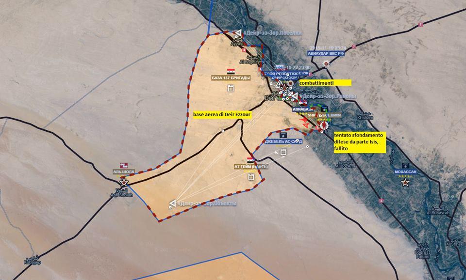 Fronte a Deir Ezzour