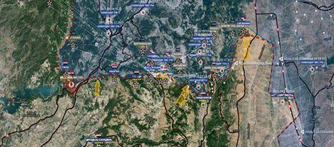 Fronte di Latakia. Fronte Nord.
