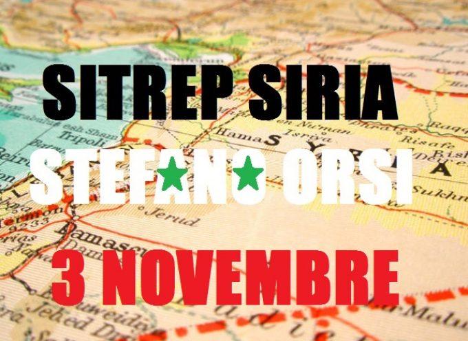 Situazione Militare in Siria al 3 Novembre 2015