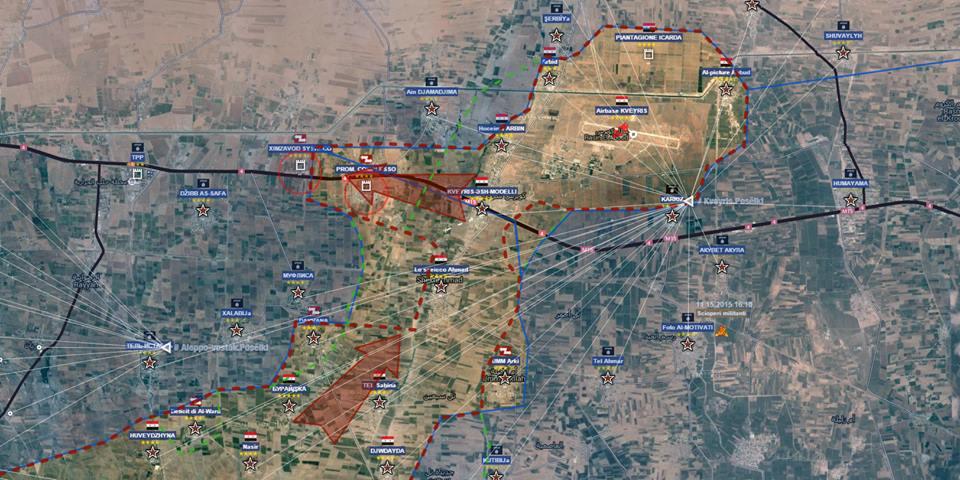 Fronte sud est Aleppo