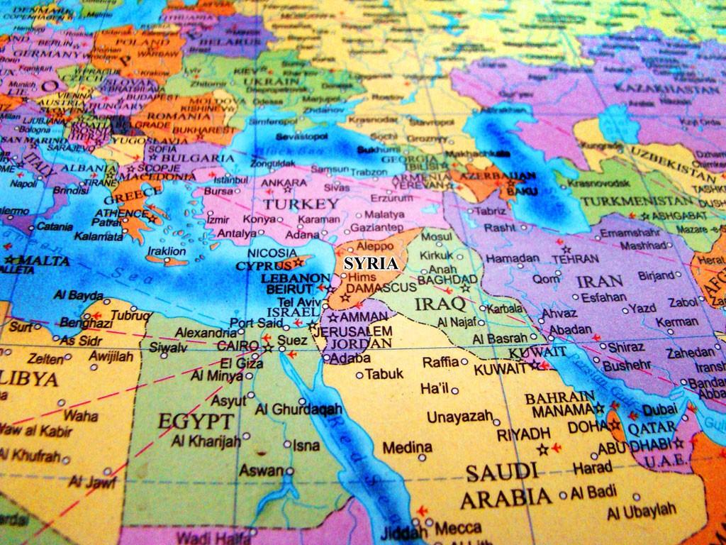 syria-location-map