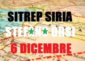 Situazione militare in Siria al 6 Dicembre 2015