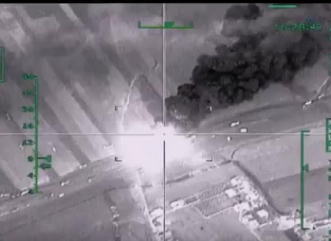 Azioni militari in Siria – Immagini del 04/12/2015