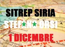 Situazione militare in Siria al 1 Dicembre 2015