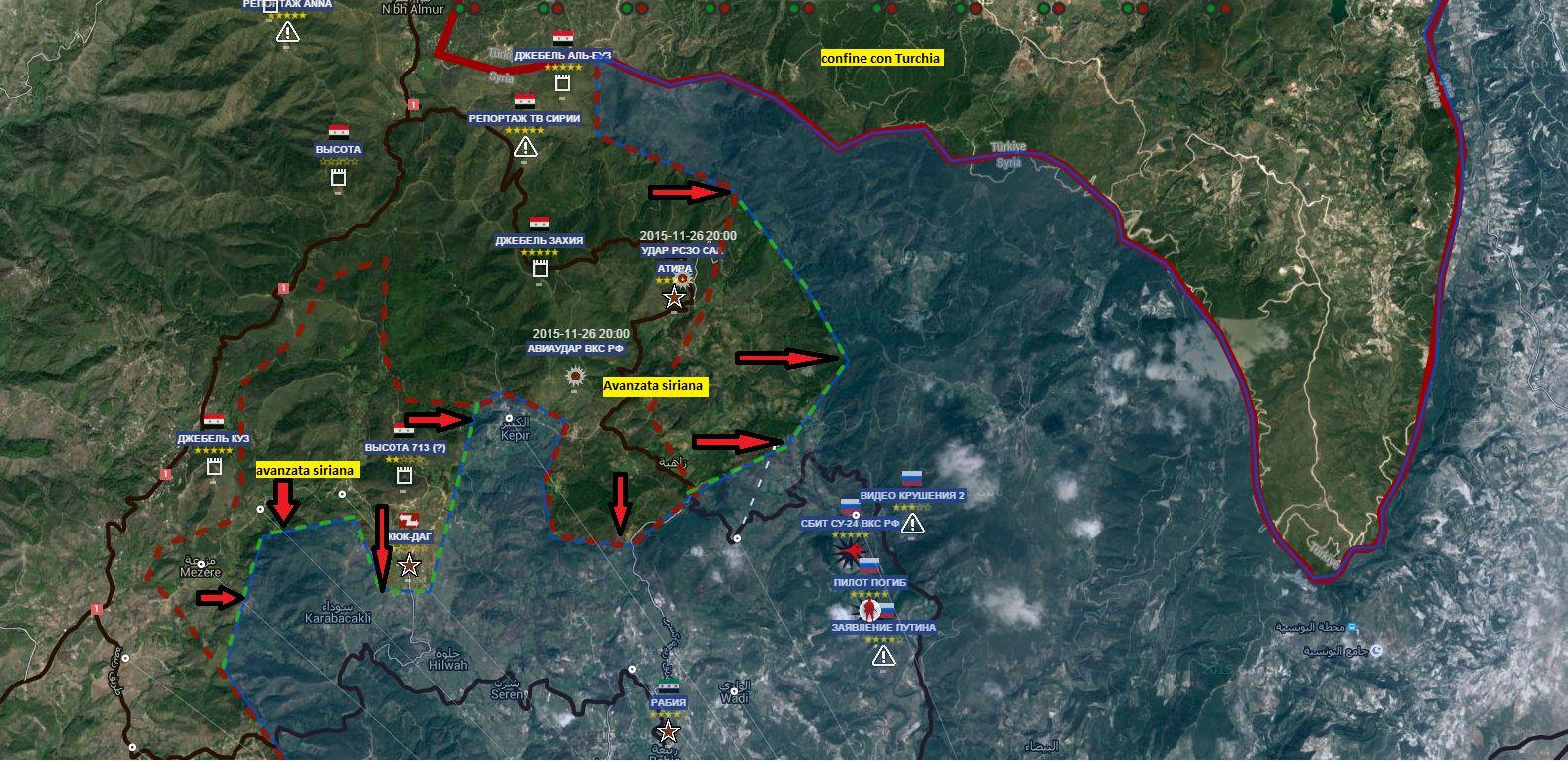 Nord Est della Provincia di Latakia