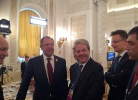 Nota del Ministero degli Esteri russo sulla Visita di Sergey Lavrov in Italia