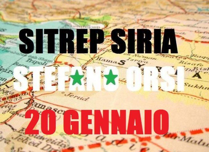 Situazione militare in Siria al 20 gennaio 2016