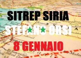 Situazione militare in Siria all'8 gennaio 2016