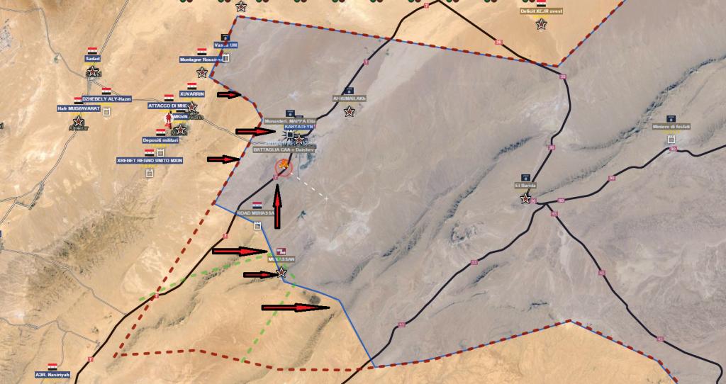 Al Qaryatayn 16-1-2016