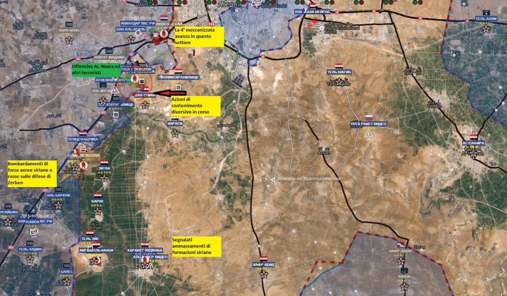 Fronte sud di Aleppo 14-1-2016