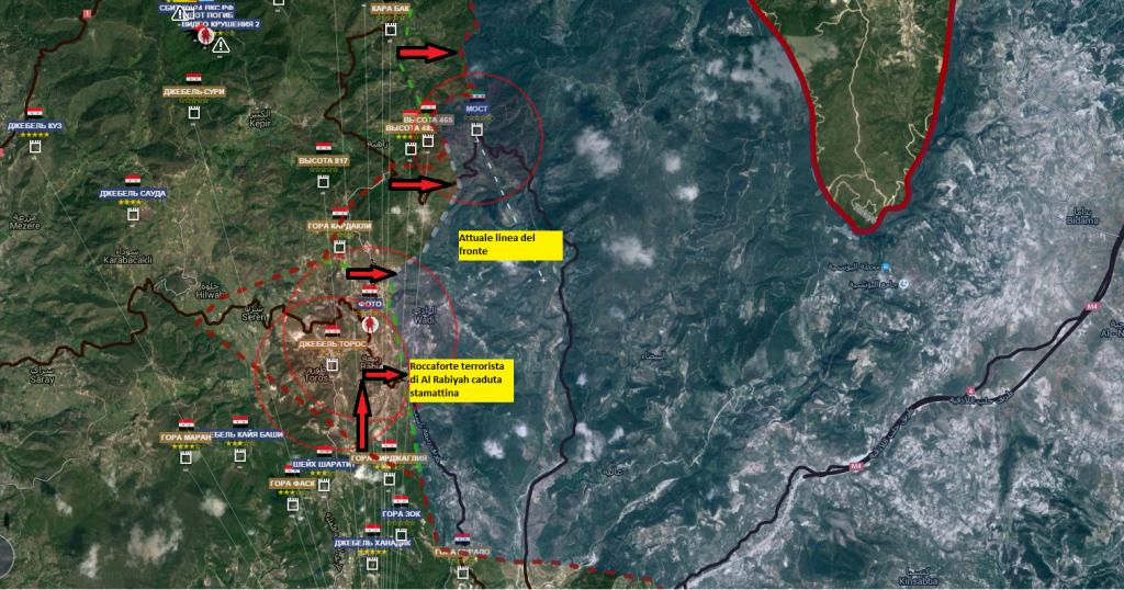 Latakia, il fronte nord 24-1-2016