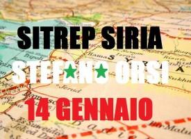 Situazione militare in Siria al 14 gennaio