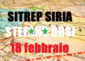 Situazione operativa sui fronti siriani del 18-2-2016
