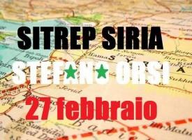 Situazione operativa sui fronti siriani del 27-2-2016