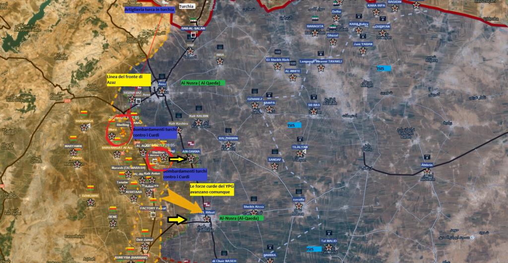 Aleppo nord 14-2-2016