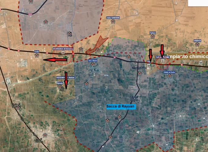 Aggiornamento flash dai fronti siriani 20-2-2016