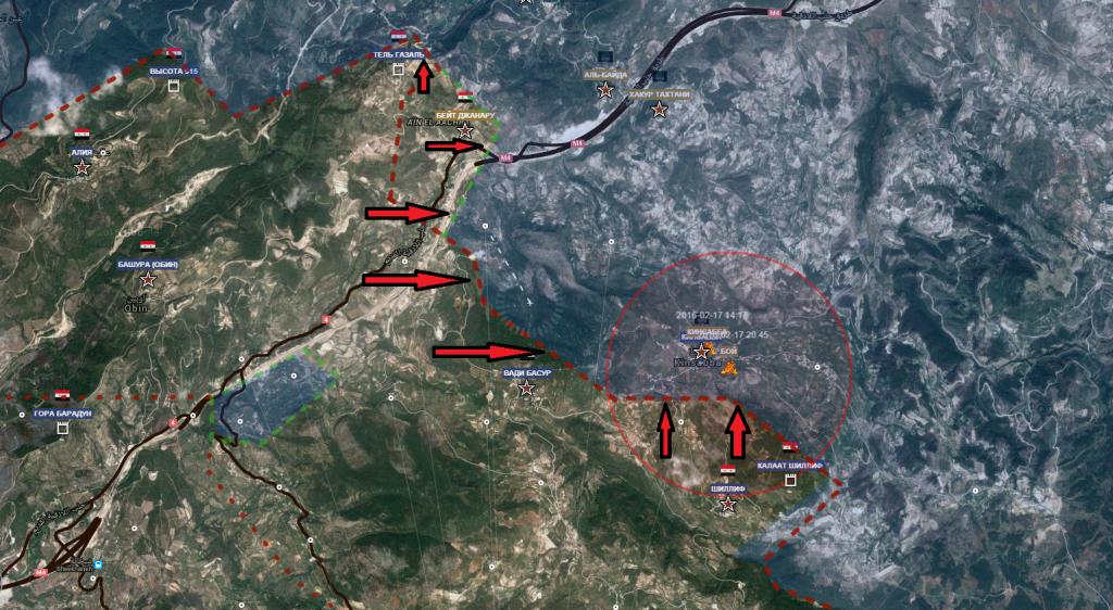 Latakia, battaglia per Kinsibba 17-2-2016