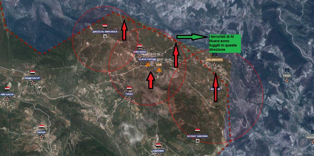 Latakia , battaglia per Kinsibba 18-2-2016