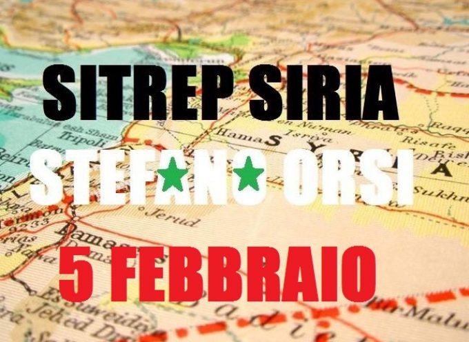 Situazione Militare in Siria al 4 / 5 febbraio 2016
