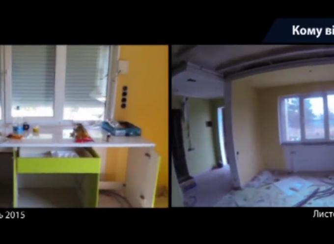 L'esercito ucraino saccheggia le case dei civili