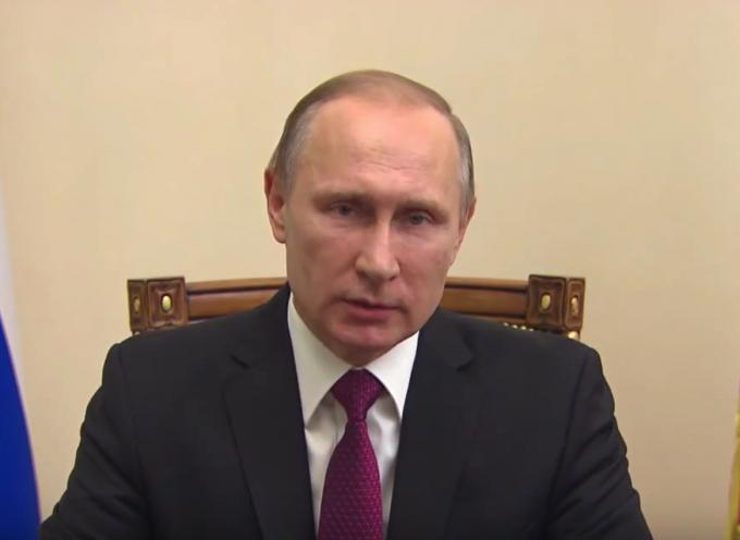 Vladimir Putin: l'annuncio del cessate il fuoco in Siria