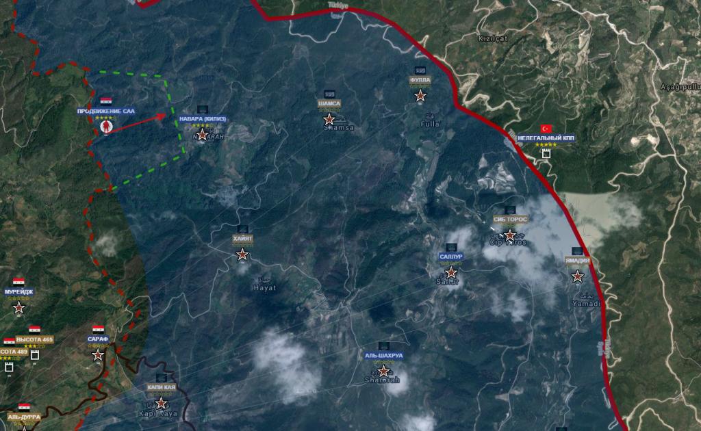 Latakia nord ovest 27-2-2016