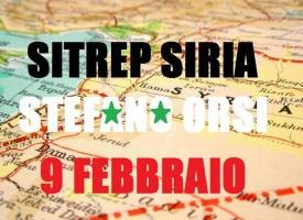 Situazione Militare in Siria al 9 febbraio 2016