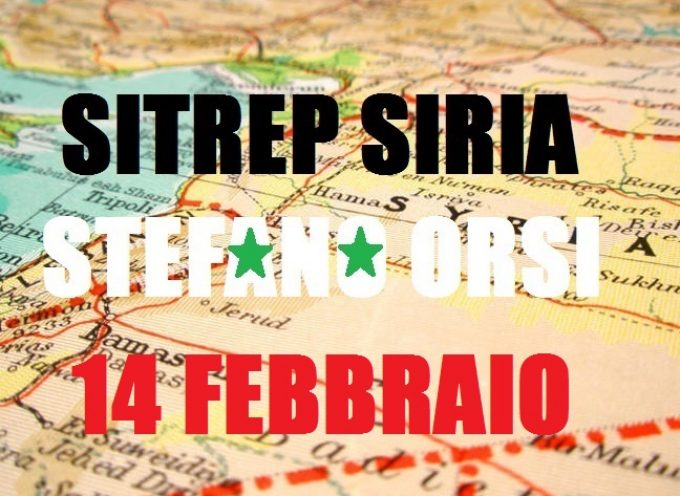Situazione militare in Siria al 14 febbraio 2016