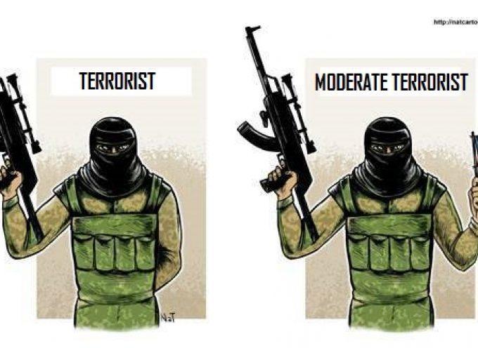 In Siria se non riesci a trovare dei moderati, ti basta travestire qualche estremista