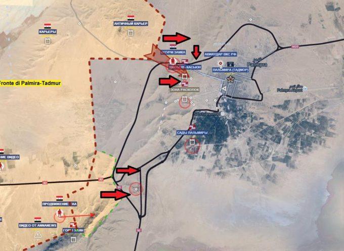 Aggiornamento flash dai fronti siriani – 13 Marzo 2016