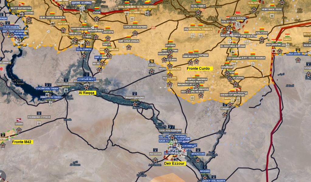 Fronte siriano-curdo 12-3-2016
