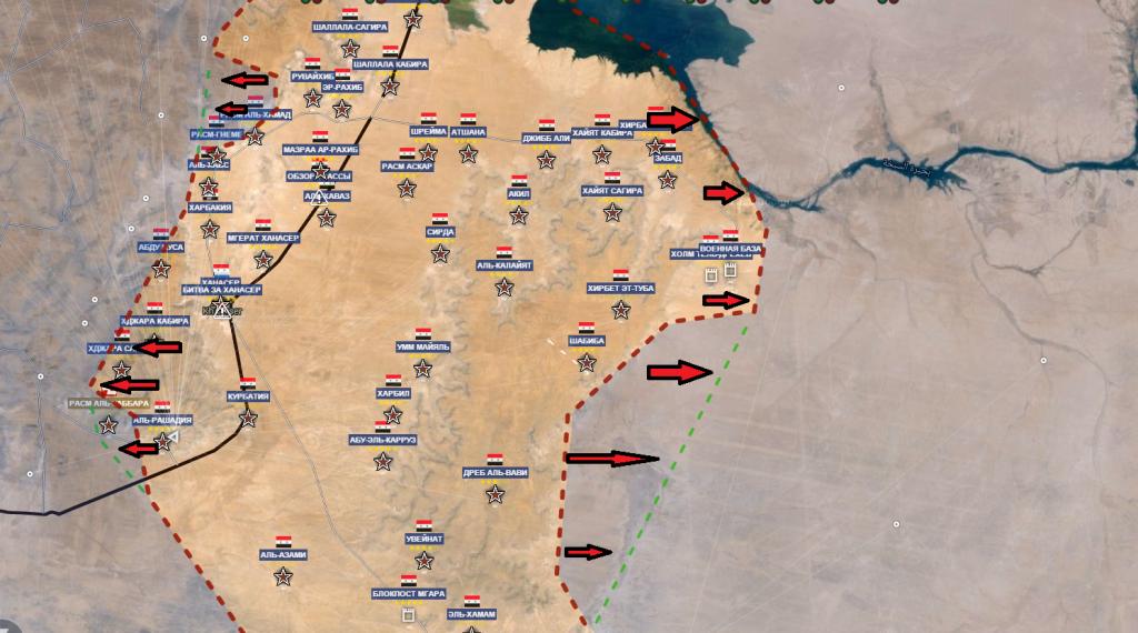 Fronte sud est di Aleppo, la strada dei rifornimenti 12