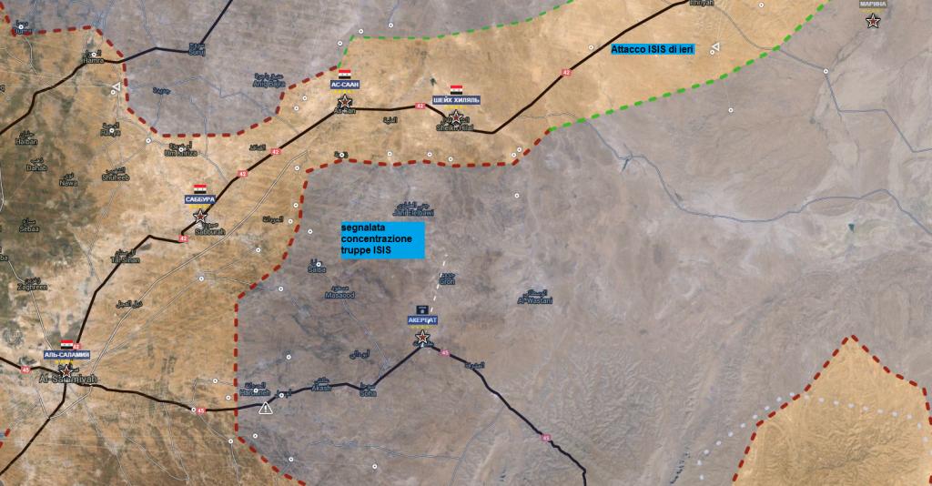 Provincia di Hama 6-3-2016