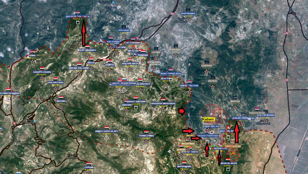 Latakia 12-3-2016 battaglia di Kabani