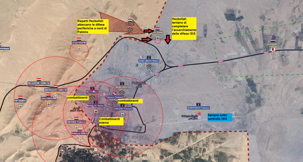 Battaglia di Palmra ore 13.00 del 26-marzo-2016