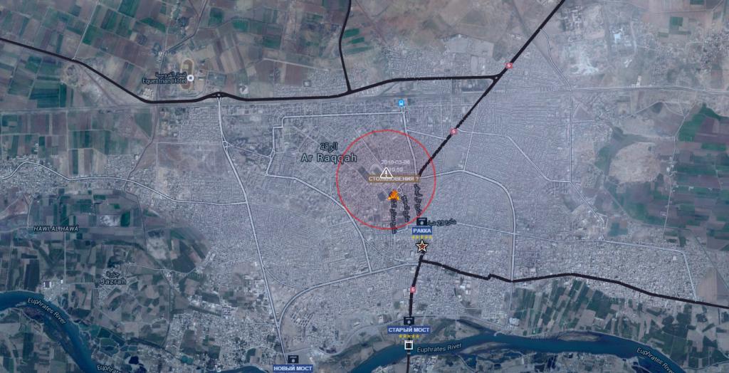 Raqqa, moti ed insurrezioni 6-3-2016